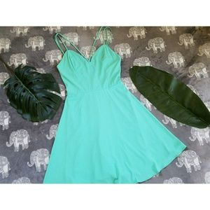 Skater Teal Dress